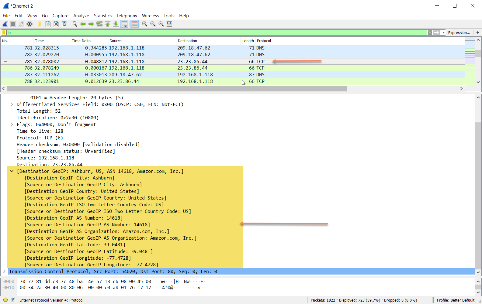 CellStream - GeoIP Add In for Wireshark 2 6 and Later