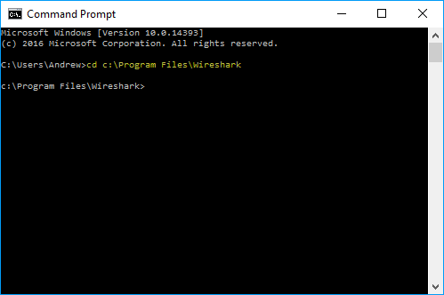 Cellstream Wireshark Ring Buffer Capture From The Command Line